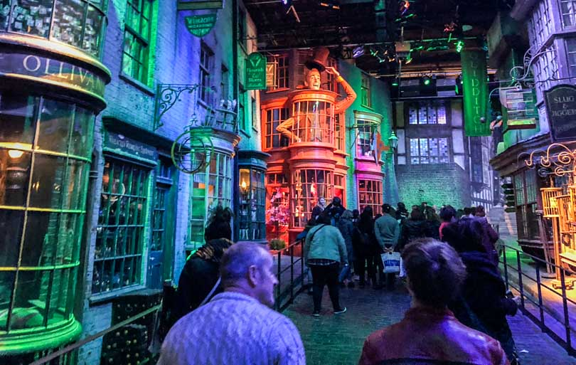 visiter studios harry potter