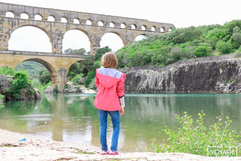pont du gard week end en famille