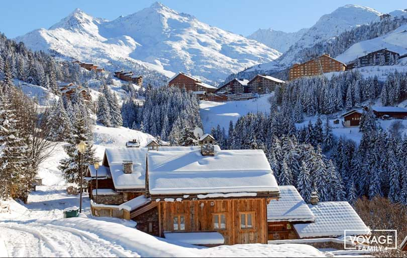 station de ski familiale : meribel