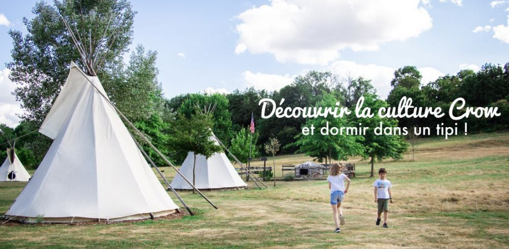 Hebergement famille insolite : tipis